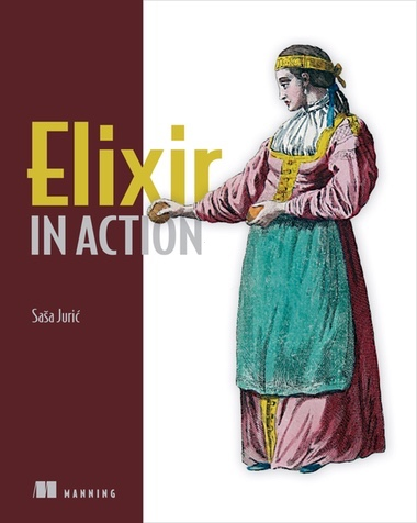 Elixir in Action cover