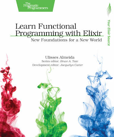 Learn Functional Programming with Elixir cover