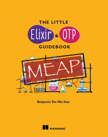 The Little Elixir and OTP Guidebook cover